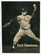 Curt Simmons Photo