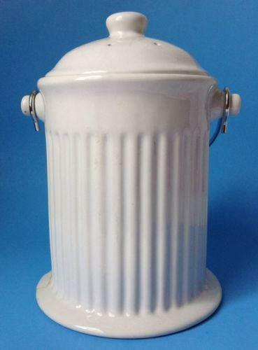 White Kitchen Canisters Ebay