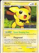 Pichu Pokemon Card