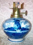 Blue Delft Lamp