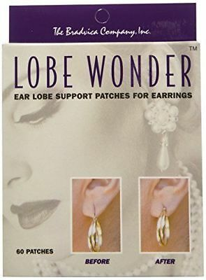 TWO (2) BOXES: LOBE WONDER   (120 Ear Lobe Support Patches)
