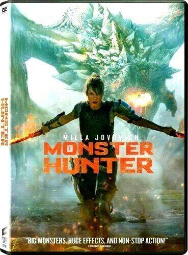 Monster Hunter [DVD,2020] >>>NEW<<<SHIPS FAST!!!