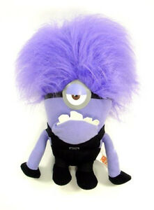 RARE-15-16-JUMBO-DESPICABLE-ME-2-PURPLE-EVIL-MINION-ONE-EYED-PLUSH-NWT