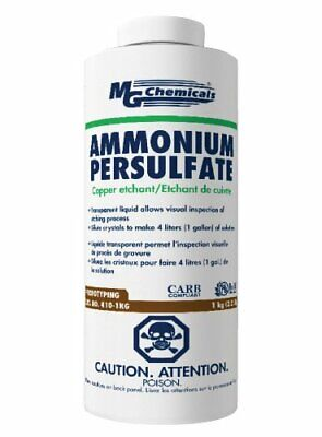Ammonium Persulfate Transparent Solution For Circuit Board Etching More 1kg
