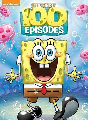 Spongebob Squarepants First 100 Episodes [New DVD] Boxed Set, Full Frame, Dolb