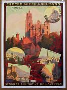 French Vintage Poster Original