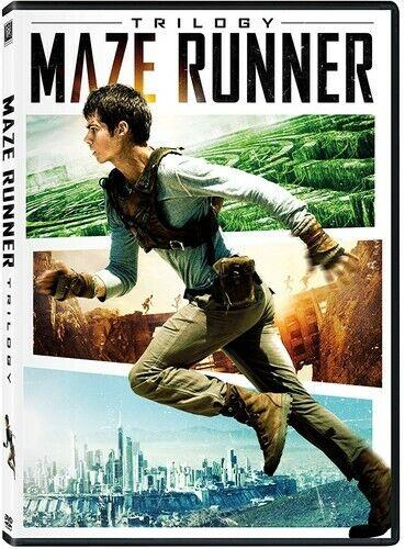 Maze Runner Trilogy [New DVD] Dolby, Subtitled, Widescreen