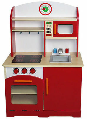 Wooden children's kitchen