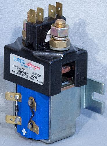 NEW Curtis Albright SW80A-771 60 V Coil 100 A EV Contactor 407603026