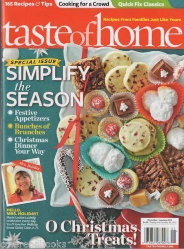 Taste of home magazine ebay forumfinder Choice Image