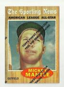 Mickey Mantle Reprint Cards