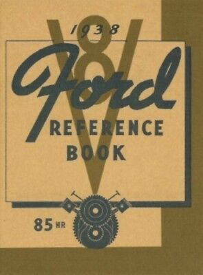 Ford 1938 85Hp Car   Pickup Truck Owners Manual 38