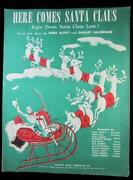 Vintage Christmas Sheet Music