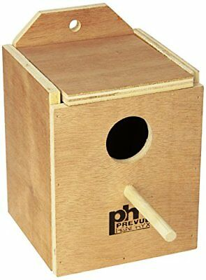 Prevue Pet Products BPV1101 Wood Inside Mount Nest Box for Birds Finch