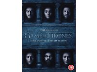 GAME OF THRONES Complete Season 6 DVD £14