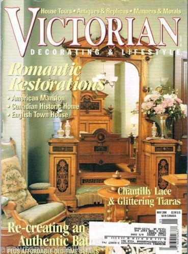 Victorian Decorating Magazine Ebay