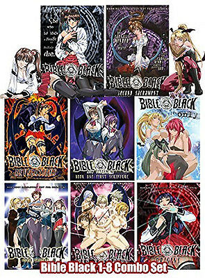 Bible Black Anime Complete Series 8 Dvd  Original Usa Release English Language