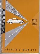 Porsche 356 Manual