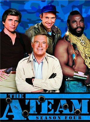 THE A-TEAM SEASON 4 New Sealed 3 DVD Set