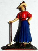 Cast Iron Doorstop Woman