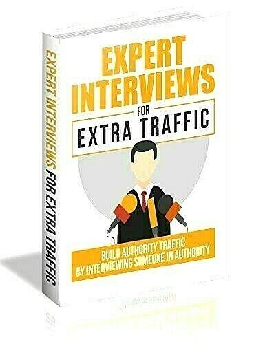 Expert Interviews For Extra Traffic Ebook pdf Master Resell Rights
