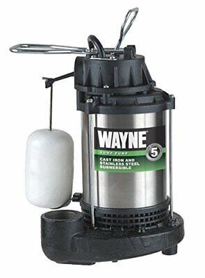 Wayne Cdu1000 1 Hp Submersible Cast Ironstainless Steel Sump Pump- 58321-wyn2