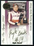 NASCAR Gold Cards