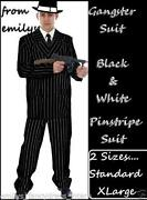 Mens Mafia Costume