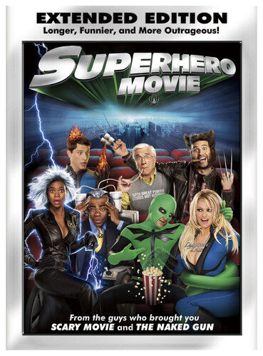 [DVD NTSC/1 NEW] SUPERHERO MOVIE [WS] [UNRATED] [EXTENDED EDITION]