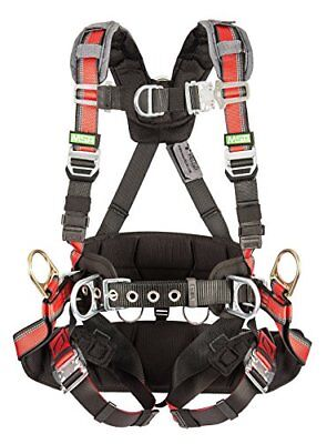 Msa Safety 10112766 Evotech Tower Harness With Integral Back Pad Back Hip And
