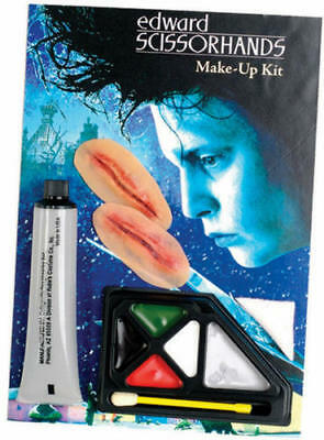 Edward Scissorhands Makeup Halloween Fancy Dress Kit