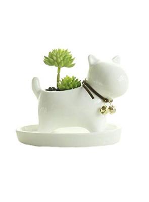 Cute Succulent Planter Animal Shaped Flower Pot Decor For Ho