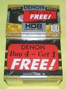 Denon Cassette Tape