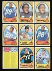 1970 Topps Football Lot