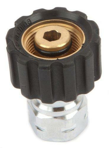 Forney 75108 Pressure Washer Accessories, Female Screw Coupling, M22F to