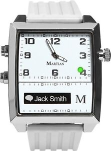 Martian G2G Bluetooth Watch White Android or iPhone