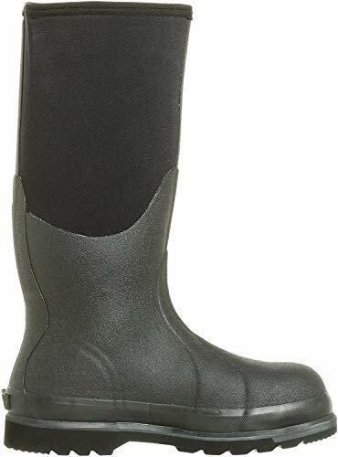 Muck Chore Steel Toe Unisex Black Boots 11-12