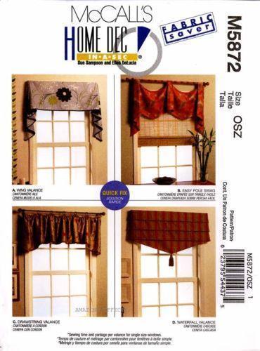 Window Treatment Patterns Ebay