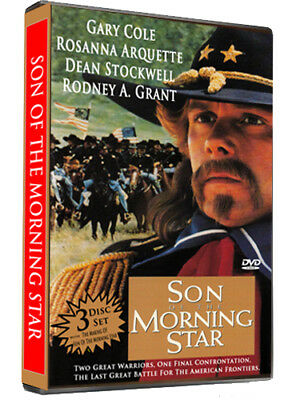 Son Of The Morning Star  Dvd  Gary Cole  Rosanna Arquette 3 Disc Set Free Ship