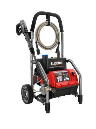 Black Max Pressure Washer Ebay
