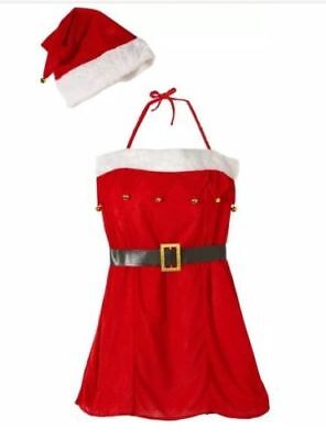 New Miss Santa Claus Sexy Outfit Costume Women Fancy Dress For Christmas Parties](Miss Santa Claus Outfit)