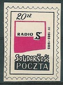 Poland SOLIDARITY POST Radio S (05) - <span itemprop=availableAtOrFrom>Bystra Slaska, Polska</span> - Poland SOLIDARITY POST Radio S (05) - Bystra Slaska, Polska