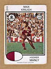 Manly Sea Eagles 1975 Rugby League (NRL) Trading Cards