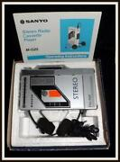 Sanyo Portable Cassette Player
