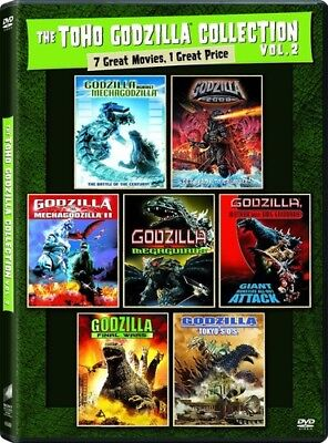The Toho Godzilla Collection: Volume 2 [New DVD] Boxed Set, Dolby, Widescreen,