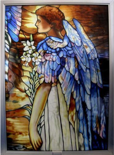 Stained Glass Angel Ebay