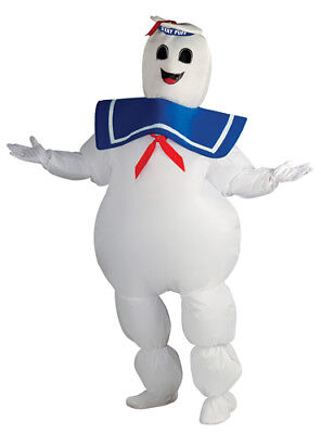 Adult Inflatable Stay Puft Ghostbuster Costume Standard - Stay Puft Inflatable