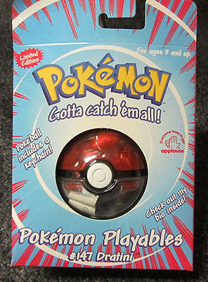 Pokemon Playables Dratini Plush Action Figure Toy   147 Poke Ball Capture Rare