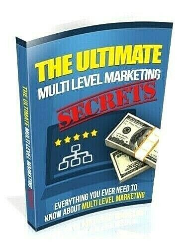 Ultimate Multi Level Marketing Secrets Ebook pdf Resell Rights