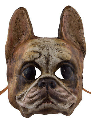 Mask from Venice Dog Race Bulldog Paper Mache Collection Luxury 2299 X23